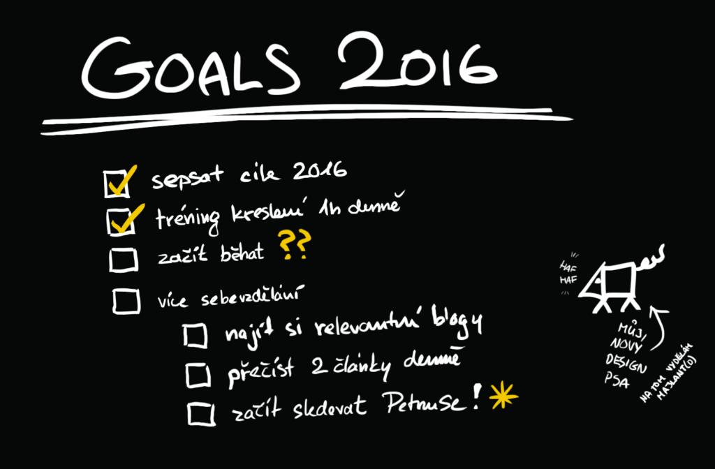 Už jste si sepsali své cíle na rok 2016 - 0
