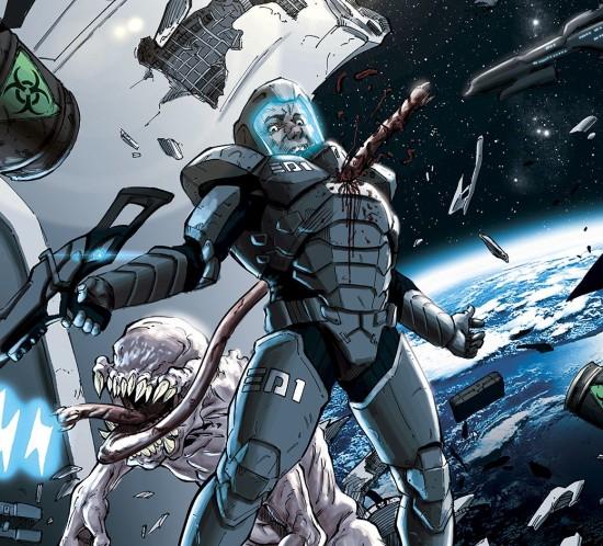 Kolorování scifi komiks