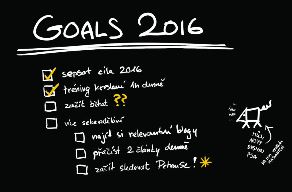 Sepište si cíle na 2016. Osobní růst.